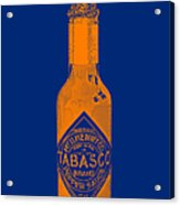 Tabasco Sauce 20130402grd2 Acrylic Print