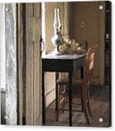 Table At Olsons 2 Acrylic Print