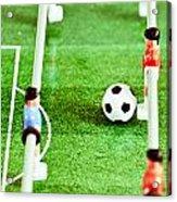Table Football Acrylic Print