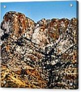 Table Mountain In Winter 42 Acrylic Print