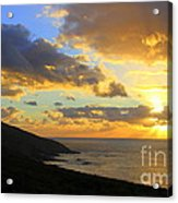 Table Mountain South Africa Sunset Acrylic Print