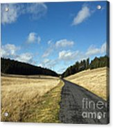 Tableland With Road Acrylic Print