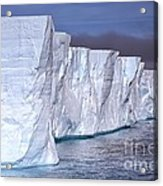 Tabular Iceberg Acrylic Print