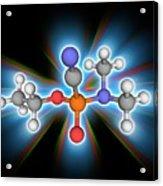 Tabun Chemical Compound Molecule Acrylic Print