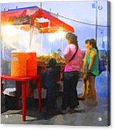 Taco Stand San Felipe Acrylic Print