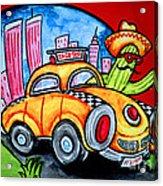 Taco Taxi Acrylic Print