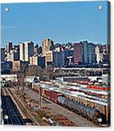 Tacoma City Wide View Acrylic Print