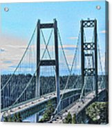 Tacoma Narrows Bridge 51 Acrylic Print