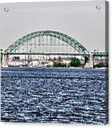 Tacony Bridge Acrylic Print