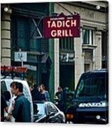 Tadich Grill Acrylic Print