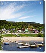 Tadoussac Quebec Acrylic Print