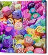 Taffy Candyland Acrylic Print
