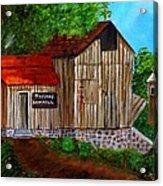Tafoya's Old Sawmill In Colorado Acrylic Print by Janis  Tafoya