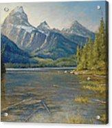 Taggart Lake Shallows Acrylic Print