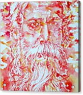 Tagore Acrylic Print