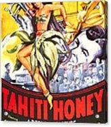 Tahiti Honey, Us Poster, From Left Acrylic Print