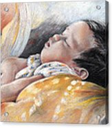 Tahitian Baby Acrylic Print