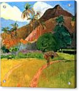 eugène henri paul gauguin two tahitian ¬¬¬ eugène henri paul gauguin (two tahitian women – 1899) paul gauguin (1848-1903) was an extremely influential post-impressionist french painter he went on a trip to tahiti in hope of inspiration, he turned his focus to the beautiful and serene native women and these paintings have become very famous.