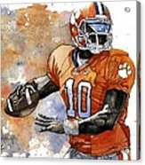 Tahj Boyd Acrylic Print by Michael  Pattison