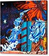 Tahlequah Graffiti Acrylic Print