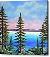 Tahoe Pines Acrylic Print