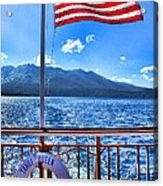 Tahoe Queen Lake Tahoe By Diana Sainz Acrylic Print