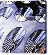 Tail Light Detail Acrylic Print