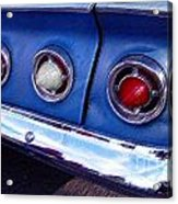 Tail Lights And Fenders Acrylic Print