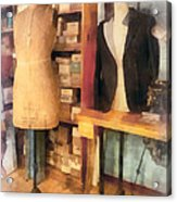 Tailor - A Pair Of Dummies Acrylic Print