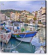 Taiwan Boats Acrylic Print