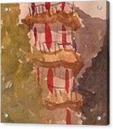 Taiwan Pagoda Acrylic Print