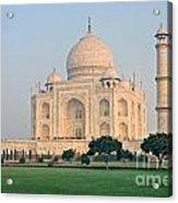 Taj Mahal At Sunrise - Agra - Uttar Pradesh - India Acrylic Print