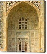 Taj Mahal Close Up Acrylic Print