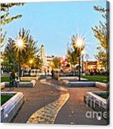 Take A Walk Downtown  Acrylic Print