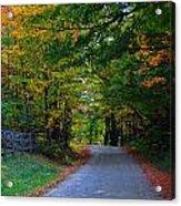 Take Me Home Country Road Acrylic Print