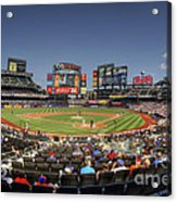 Take Me Out To The Ballgame Acrylic Print