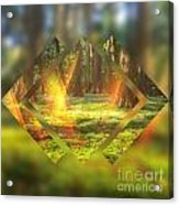 Take Me To The Magic Forest Acrylic Print
