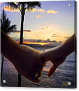 Take My Hand Acrylic Print