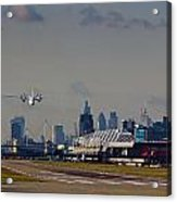 Take Off From London Acrylic Print