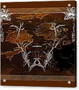 Take The Bull By Its Horns Acrylic Print