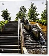Take The Stairs Or... Acrylic Print