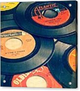 Take Those Old Records Off The Shelf Acrylic Print by Edward Fielding