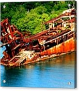 Tales Of Rust Acrylic Print