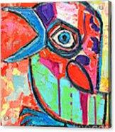 Talkative Baby Bird First This Spring Acrylic Print