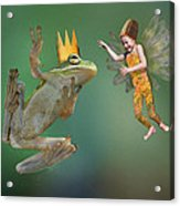 Talking With The Frog King Acrylic Print