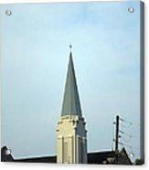Tall Church Steeple Acrylic Print