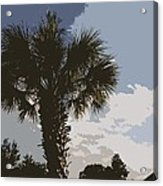 Tall Palm Acrylic Print