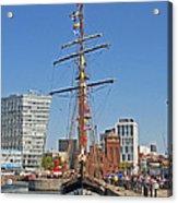 Tall Ship Astrid Acrylic Print