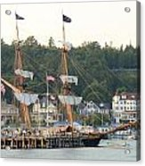 Tall Ship Acrylic Print by Brett Geyer