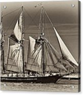 Tall Ship II Acrylic Print